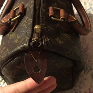 Louis Vuitton speedy 25 extra pics